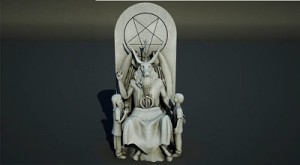 Oklahoma-state-capitol-satanic-temple-statue