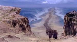 Mosè separa le acque
