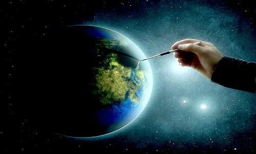 Dio crea il mondo dans immagini creazione05